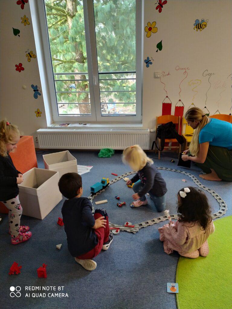 Smart Bricks® se svým programem ve školce Ponny Preschool, Brno