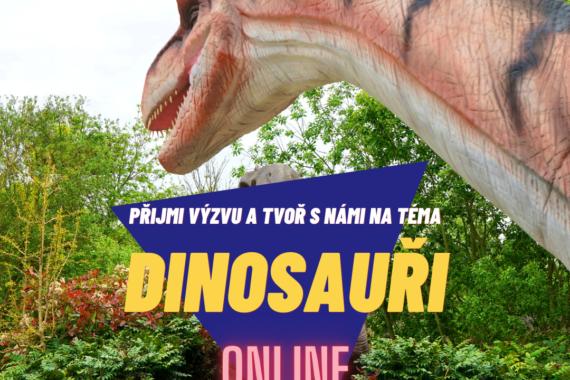 online lekce výprava za dinosaury